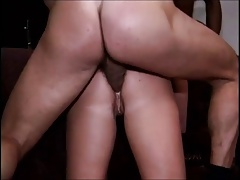 Sexy whore Kiki gets it hard in her ass