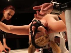 Lesbo domination Ash-blonde Mega-slut In Nip Treatment