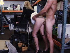 Super-sexy Blondie Mummy Gets Fucked By Pawn Dude And Gets Payed