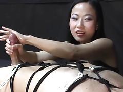 Gal domination Handjob by Niya Yu