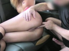 European Girl Pays Sex To A Hunk Driver