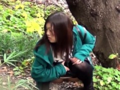 Asian Teenagers Cant Hold Pee