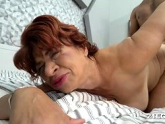 Huge-titted Granny Got Banged By A Large Dick